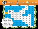 Dove Hundreds Chart Fun - Watch, Think, Color Mystery Pictures