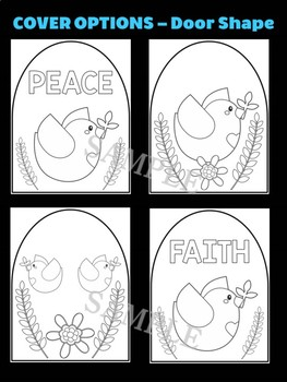 Dove of Peace- Moonju Makers, Activity, Craft, Decor, Martin Luther King Day