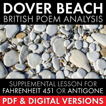 Dover Beach, Matthew Arnold, Stand-Alone Poetry Lesson or Use with Brit Lit Unit