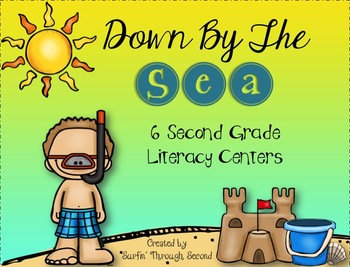 Down By The Sea Second Grade Literacy Centers