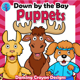 Down By the Bay Song Activity | Animal Paper Bag Puppet Templates