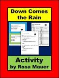 Down Comes the Rain Book Unit