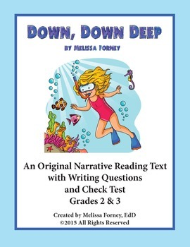Story and Questions Grades 2 & 3 Literacy Center