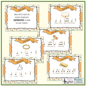 """""""Down, Down, Yellow and Brown"""": Orff Lesson/Instruments, Fall"""