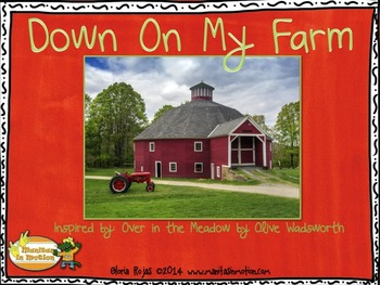 Down On My Farm – a bilingual book, numbers, counting, ani