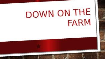 Down On The Farm Powerpoint