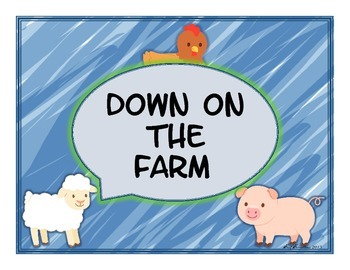 Down On The Farm Writing Prompt