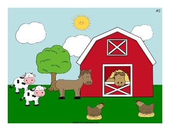Down On the Farm Math & Literacy Unit