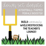 Down, Set, Donate! A Football-Themed Morale Booster
