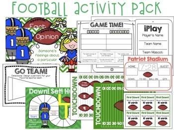 Down! Set! Hut! (Football Activity Pack)