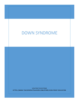 Down Syndrome- A few amazing people Activity