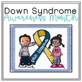 Down Syndrome Awareness Month Door Signs