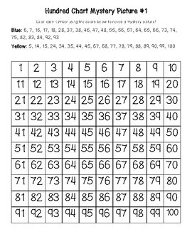 Down Syndrome Awareness World Down Syndrome Day Hundred Chart Mystery Pictures