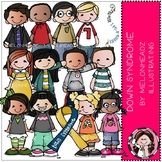 Down Syndrome Awareness clip art - COMBO PACK- by Melonheadz