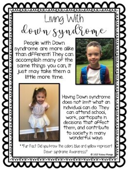 Down Syndrome Awareness World Down Syndrome Day by Kelsey