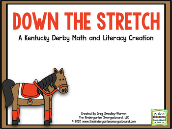 Down The Stretch:Kentucky Derby Math and Literacy Centers!