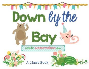 Down by the Bay ~ Class Book