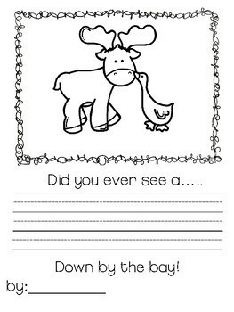 Down by the Bay Classbook A Rhyming Word Book for K to 3