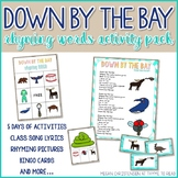 "Down by the Bay"" Rhyming Words Activity Pack"