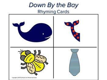Down by the Bay Visual Aids, Preschool Music