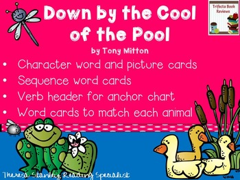Story Activities:  Down by the Cool of the Pool