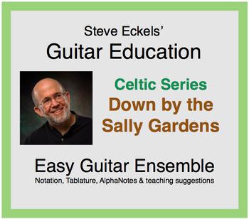 Down by the Sally Gardens - Celtic Guitar Ensemble, Guitar Trio