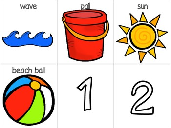 Down by the Sea Literacy and Math Activities
