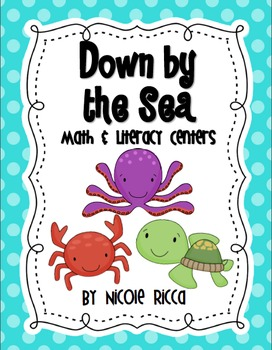 Down by the Sea! Math & Literacy Centers