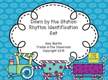 Down by the Station: Mi Re Do and Half Note Lesson Set