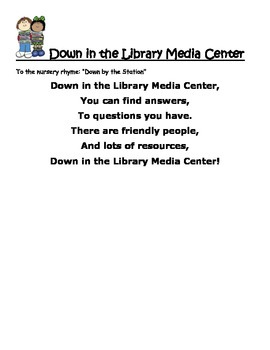 Down in the Library Media Center!