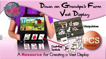 Down on Grandpa's Farm - Vest Display - PCS