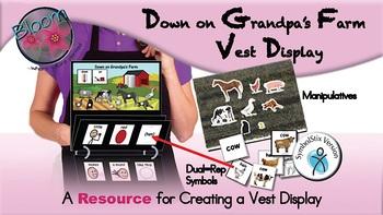 Down on Grandpa's Farm  - Vest Display - SymbolStix
