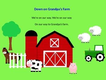 Music Song: Down on Grandpa's Farm