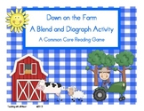 Down on the Farm!  A Blend and Diagraph Activity