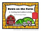 Down on the Farm: A Counting and Addition Activity