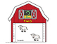 Down on the Farm Counting barn Mats