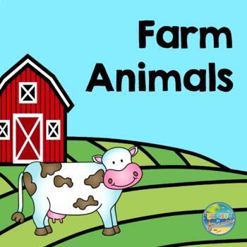 Down on the Farm File Folder Game