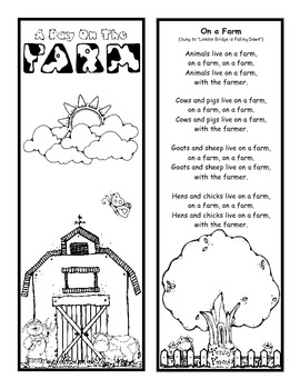Down on the Farm Lapbook