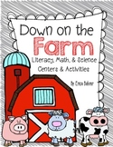 Farm: Literacy, Math, & Science Centers and Activities