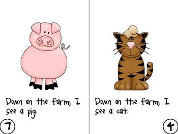Down on the Farm Literacy Mini-Unit