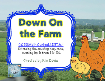 Down on the Farm Math Puzzles from 1- 120