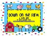 Down on the Farm: Math Unit