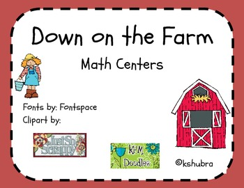 Down on the Farm Packet - Math