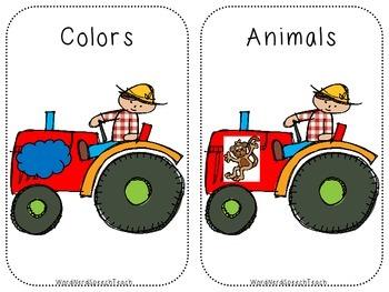 Down on the Farm Preschool Pack
