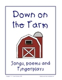 Down on the Farm - Songs, Poems and Fingerplays