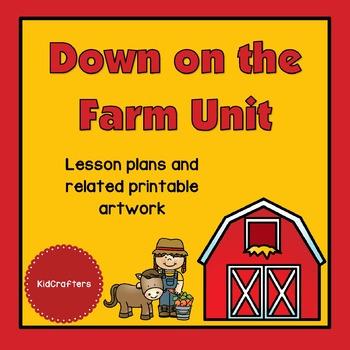 Down on the Farm Theme Unit