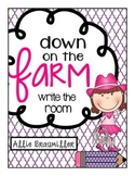 Down on the Farm: Write the Room