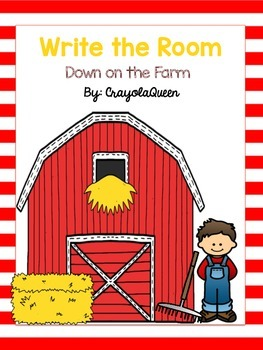 Down on the Farm Write the Room