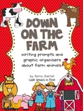 Down on the Farm: Writing Project (Graphic Organizers/Writ