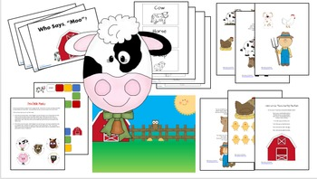 Down on the Farm... thematic unit for preschool or kindergarten
